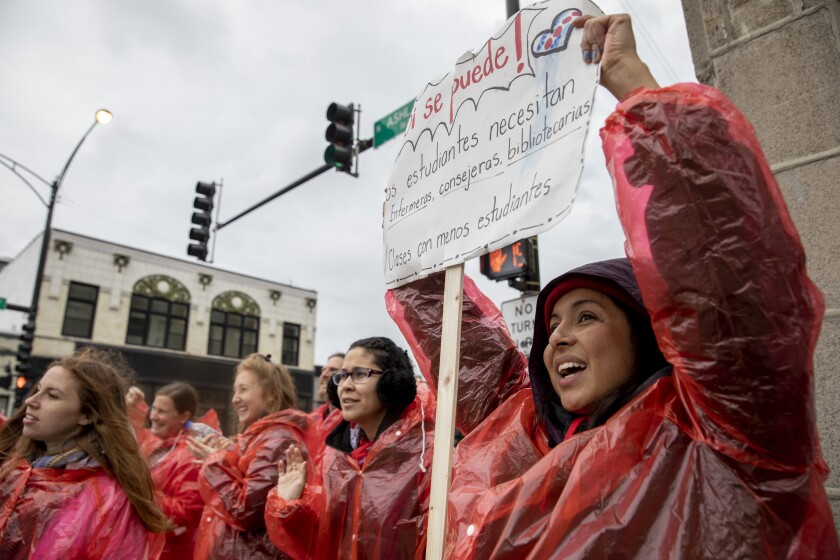 Chicago Schools Strike