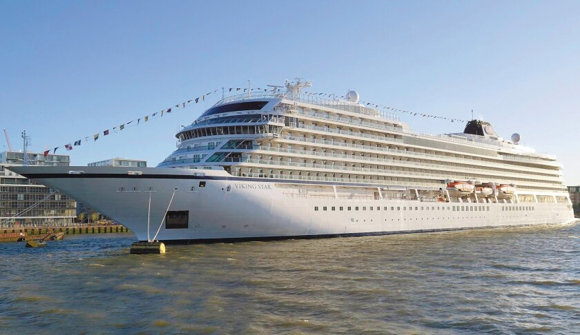 The Viking Star is the first ship in Viking's new ocean cruising line.