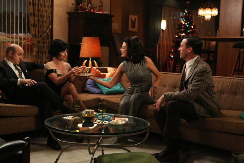 'Mad Men' ratings down slightly in Season 6 premiere