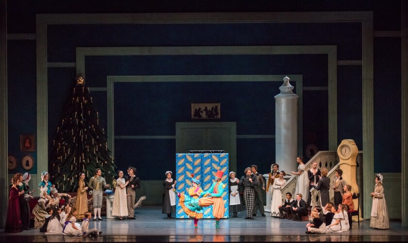 """The Act I party scene of American Ballet Theatre's """"The Nutcracker."""""""