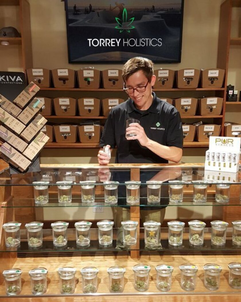 Torrey Holistics, one of San Diego's 14 legal dispensaries