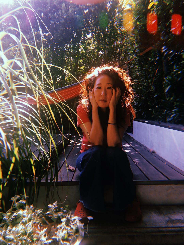 Actress Sandra Oh