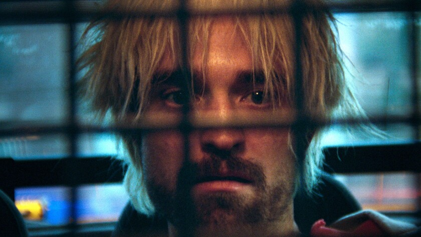 "Robert Pattinson as Connie in the film ""Good Time."" Credit: A24"