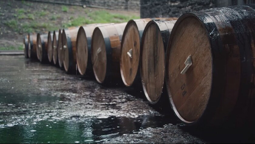 """A screenshot from the trailer for """"Neat,"""" a new bourbon documentary."""