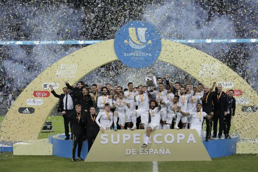 ESPAÑA SUPERCOPA REAL MADRID