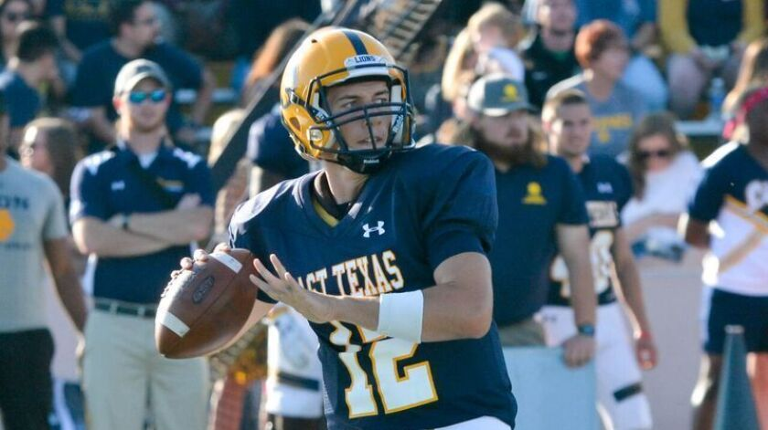 Texas A&M Commerce QB Luis Perez began his quarterback odyssey at Southwestern College.