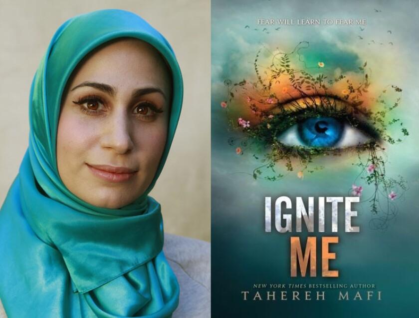 Tahereh Mafi and her book 'Ignite Me'
