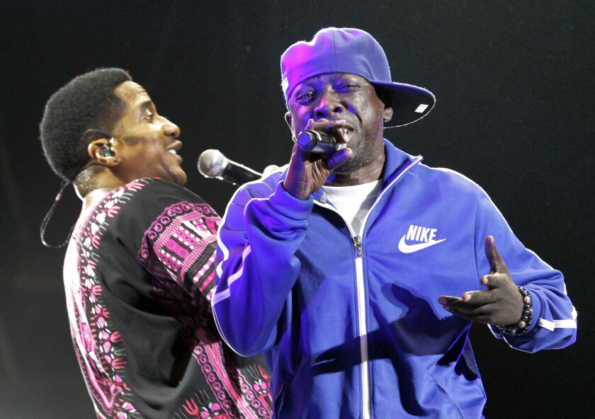 Phife Dawg, right, formed the trailblazing hip-hop group A Tribe Called Quest in the late 1980s in New York with his childhood friend Q-Tip, left. He was 45. Full obituary