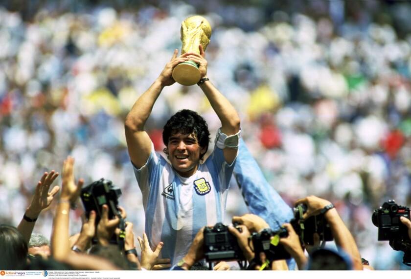 Fnal de la Copa Mundial de México 1986.