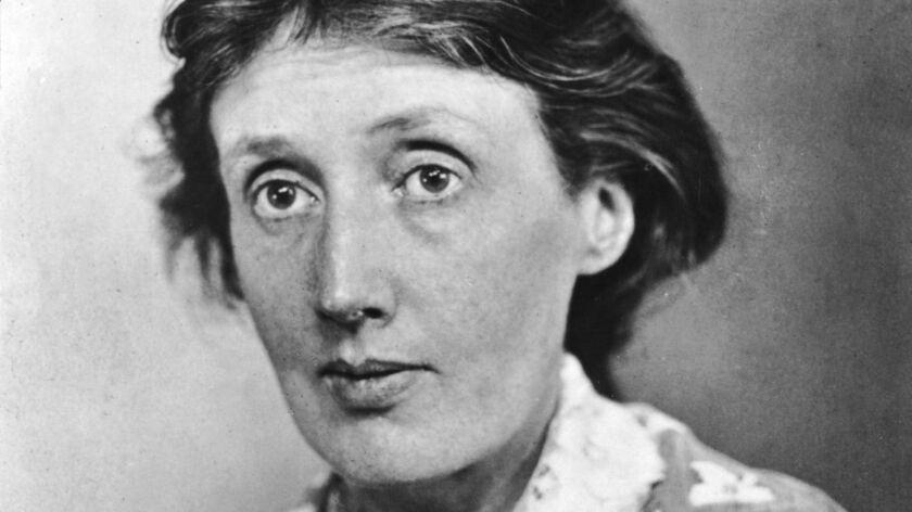 British author Virginia Woolf (1882-1941).