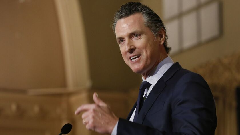 California Gov. Gavin Newsom has called for spending millions to aid local nonprofits and community organizations that provide services to asylum-seeking families.