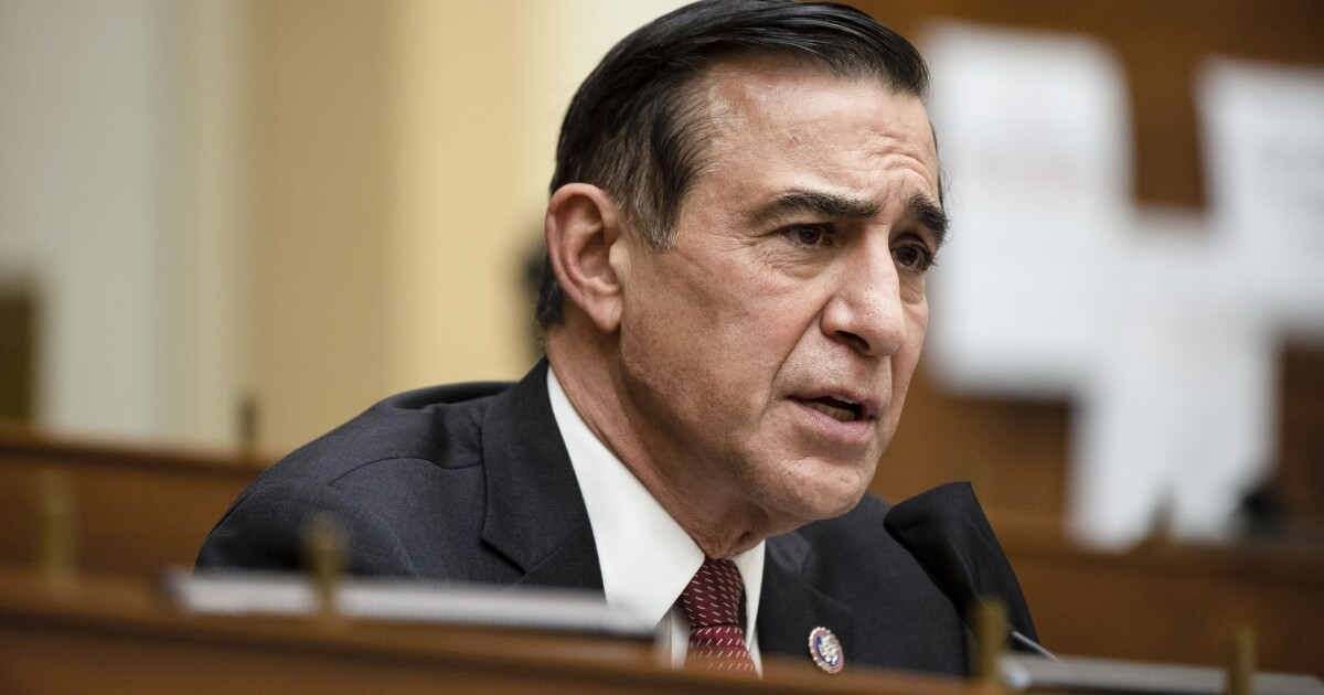 Column: Issa remains vague about Cheney's removal