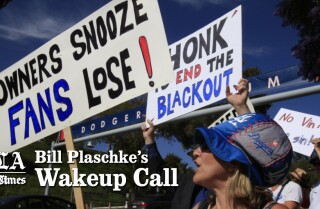 Bill Plaschke's Wakeup Call: The Dodgers put fans in a lose-lose situation
