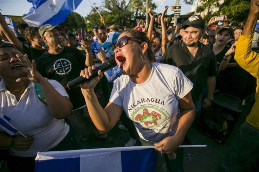 La Comisión Interamericana de Derechos Humanos (CIDH) condenó hoy las muertes en las protestas contra el Gobierno de Nicaragua y anunció que pedirá hacer una visita de trabajo al país. EFE/ARCHIVO