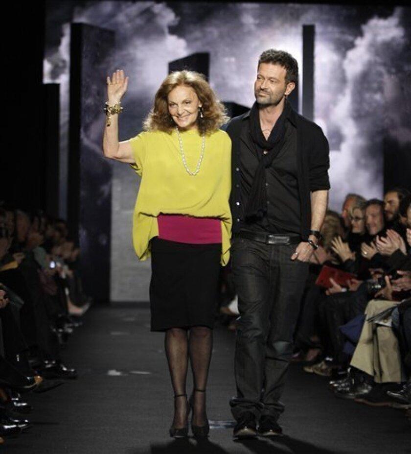Diane Von Furstenberg Puzzles At Ny Fashion Week The San Diego Union Tribune
