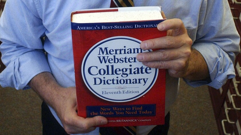 """Merriam-Webster's word of the year for 2019 was the singular """"they."""""""