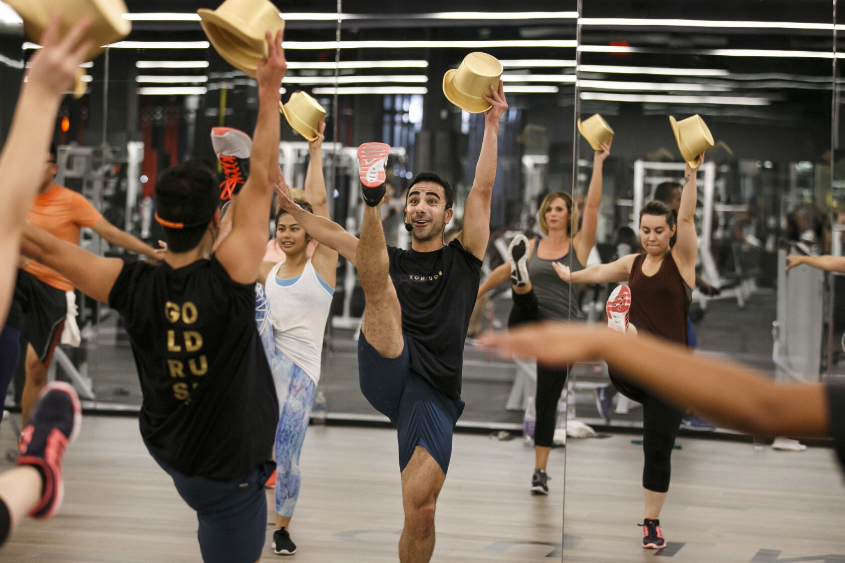 Photos: Looking in on Hollywood's hot new gym - Los Angeles