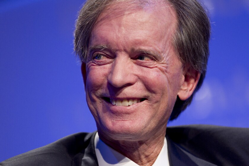 The SEC is investigating Pimco's star fund manager, Bill Gross.