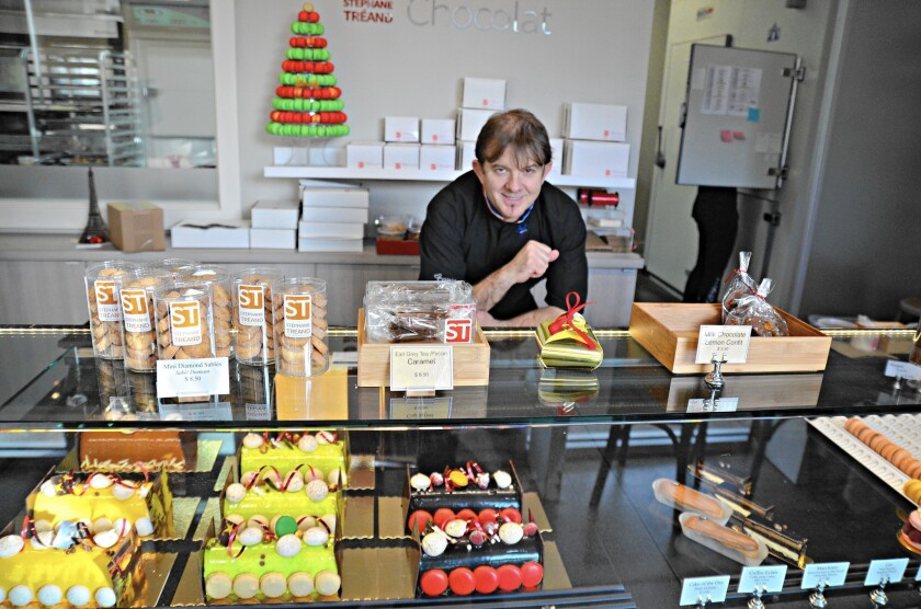 Inspired by his native country of France, Chef Stephane Treand founded ST Patisserie, a cooking school and pastry bakery, at South Coast Collection in Costa Mesa last year and opened ST Chocolat earlier this year, also at that location.