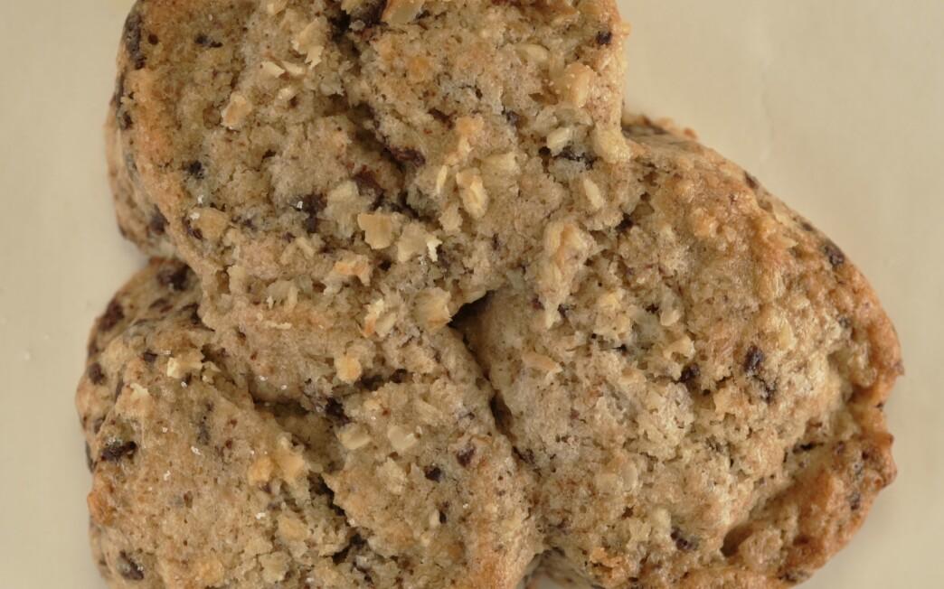 La Brea Bakery chocolate-walnut scones