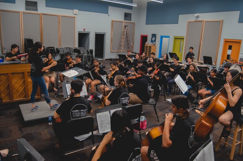 The Carmel Valley Summer Symphony is looking for young musicians.