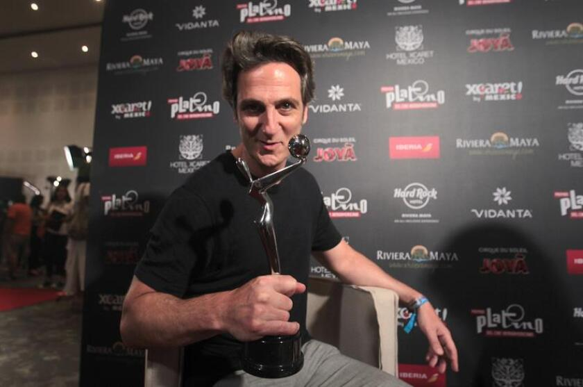"""El actor argentino Ernesto Alterio habla en entrevista con Efe este sábado, 28 de abril de 2018, en Playa del Carmen (México). La llegada de las nuevas plataformas que utilizan el internet para la distribución y exhibición de películas y series, como la popular Netflix, suponen una especie de """"revolución"""" dentro de la industria cinematográfica, consideró el actor argentino Ernesto Alterio. EFE"""