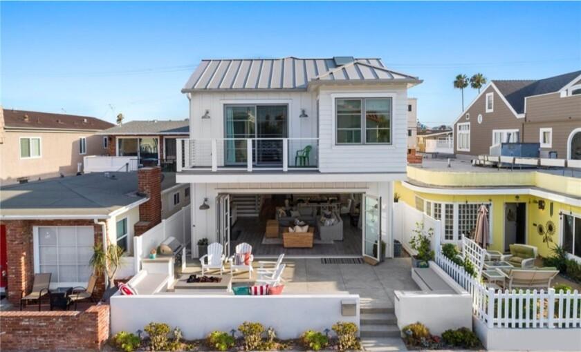 Sean Marks' Newport Beach home