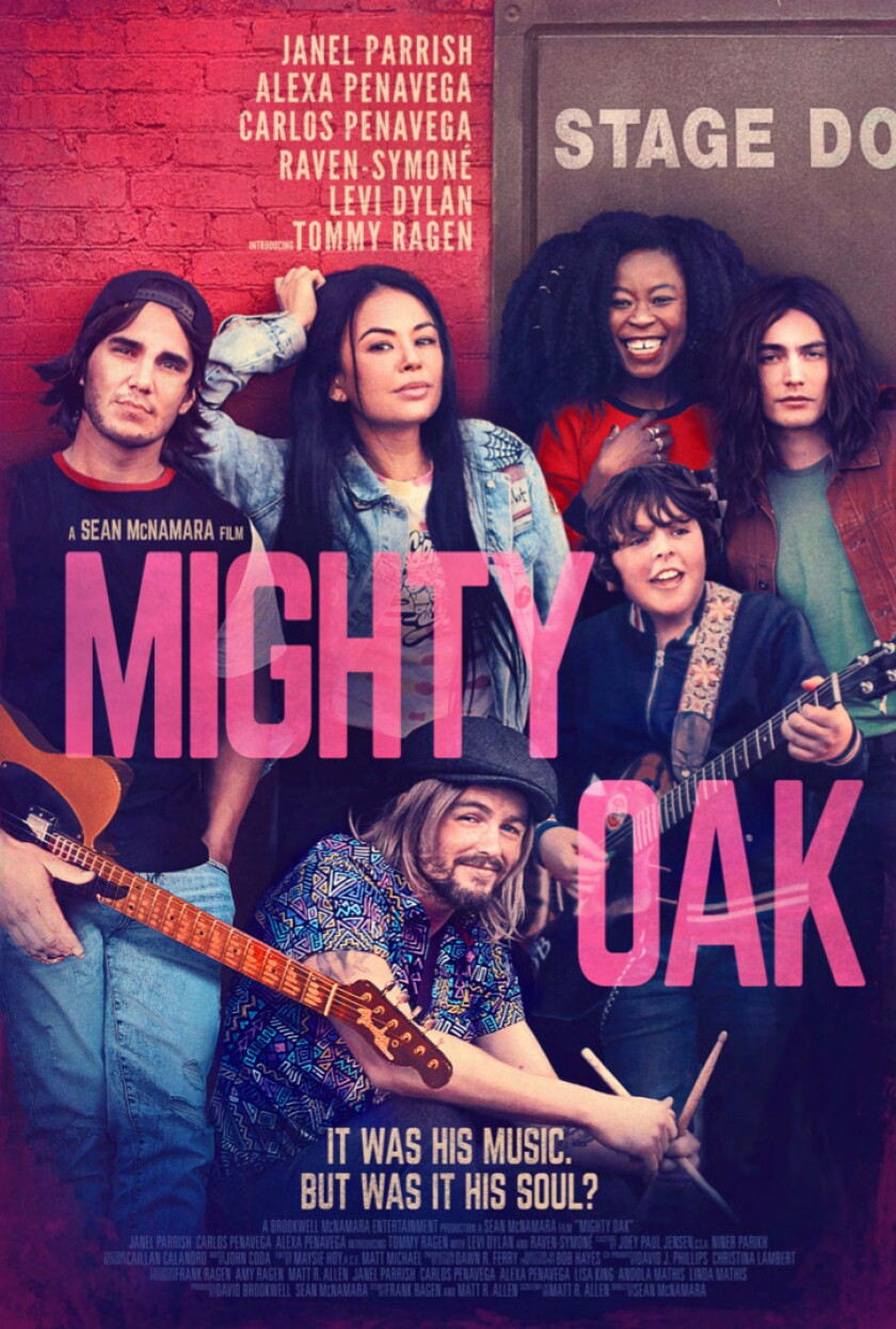 "The poster for ""Mighty Oak."""