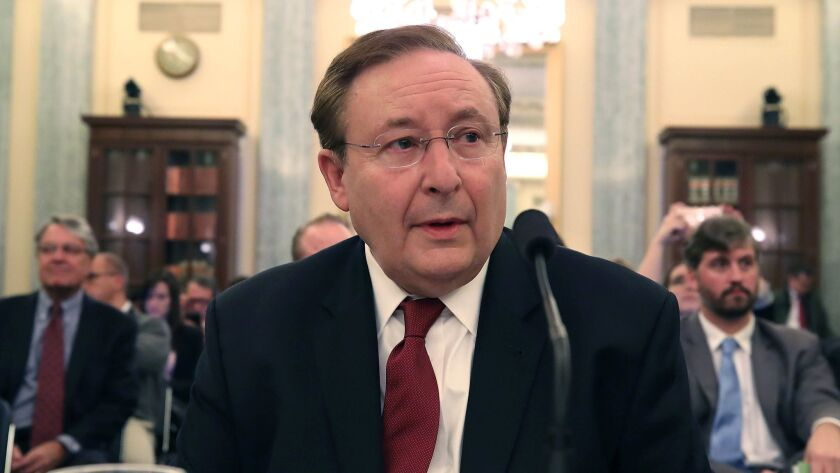 Senate Confirmation Hearing Held For Barry Lee Myers To Be Administrator Of NOAA