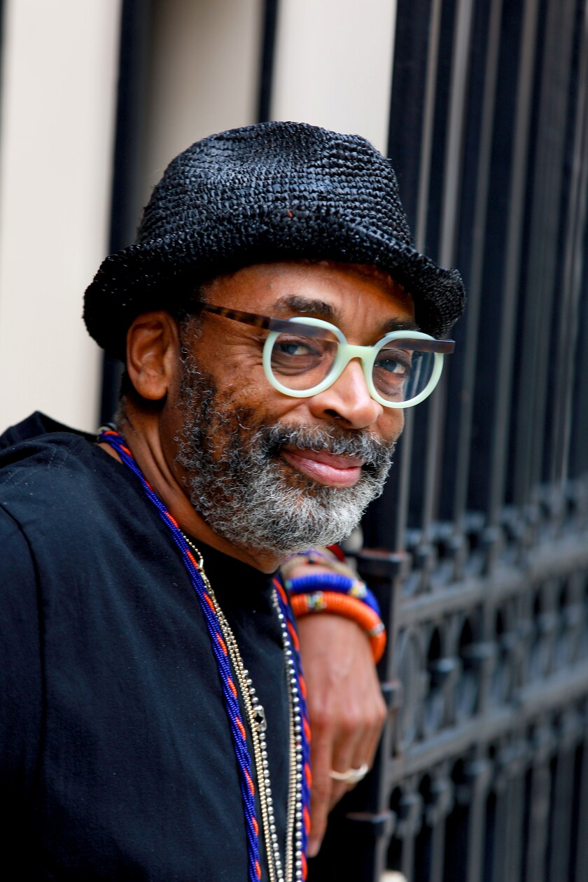 Spike Lee in New York City on May 29