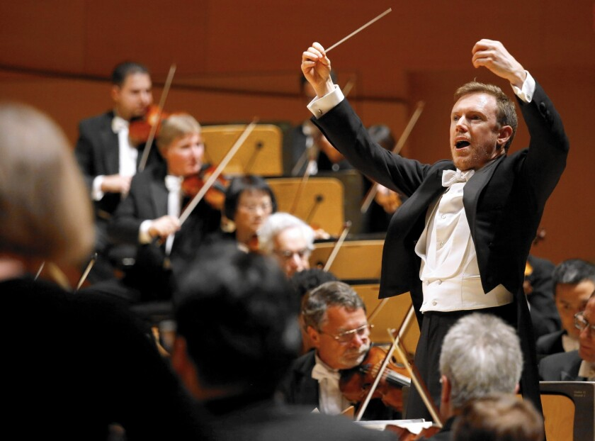 The L.A. Times' Mark Swed visits Pacific, Pasadena and San Diego symphonies, L.A. Philharmonic, OC Youth Symphony, Young Musicians Foundation Debut Orchestra.