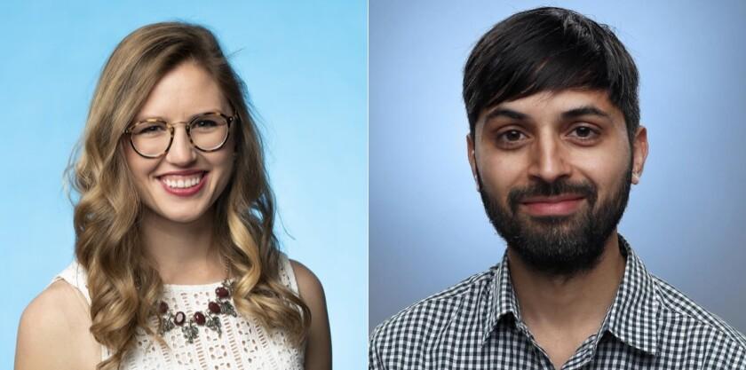Emily Baumgaertner and Jaweed Kaleem