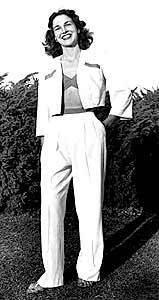 Lou Van Roy pant suit