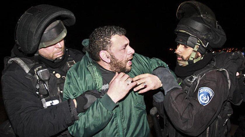 Israeli police dismantle Palestinian protest village