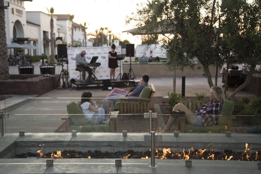 The Village Square at Pacific Highlands Ranch will play host to the Summer and Songs concert series.