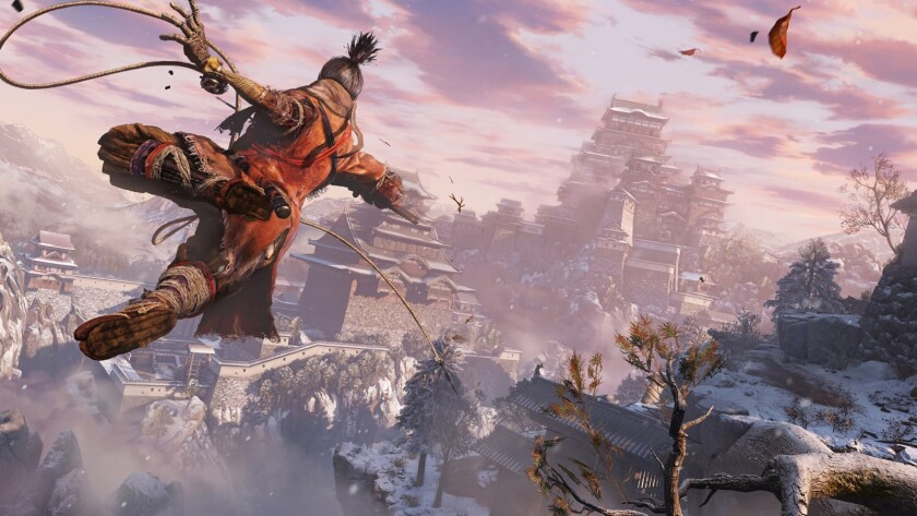 "The games of From Software, including ""Sekiro: Shadows Die Twice,"" are tough but allow players to get into a sense of rhythm."