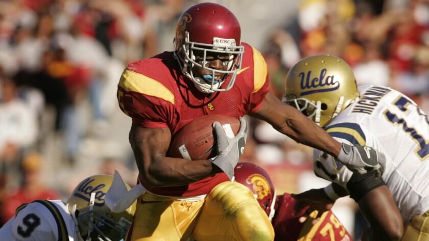 Former USC running back Reggie Bush