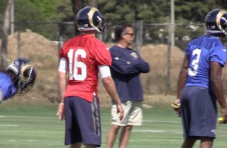 Watch: Rams begin rookie mini-camp in Oxnard