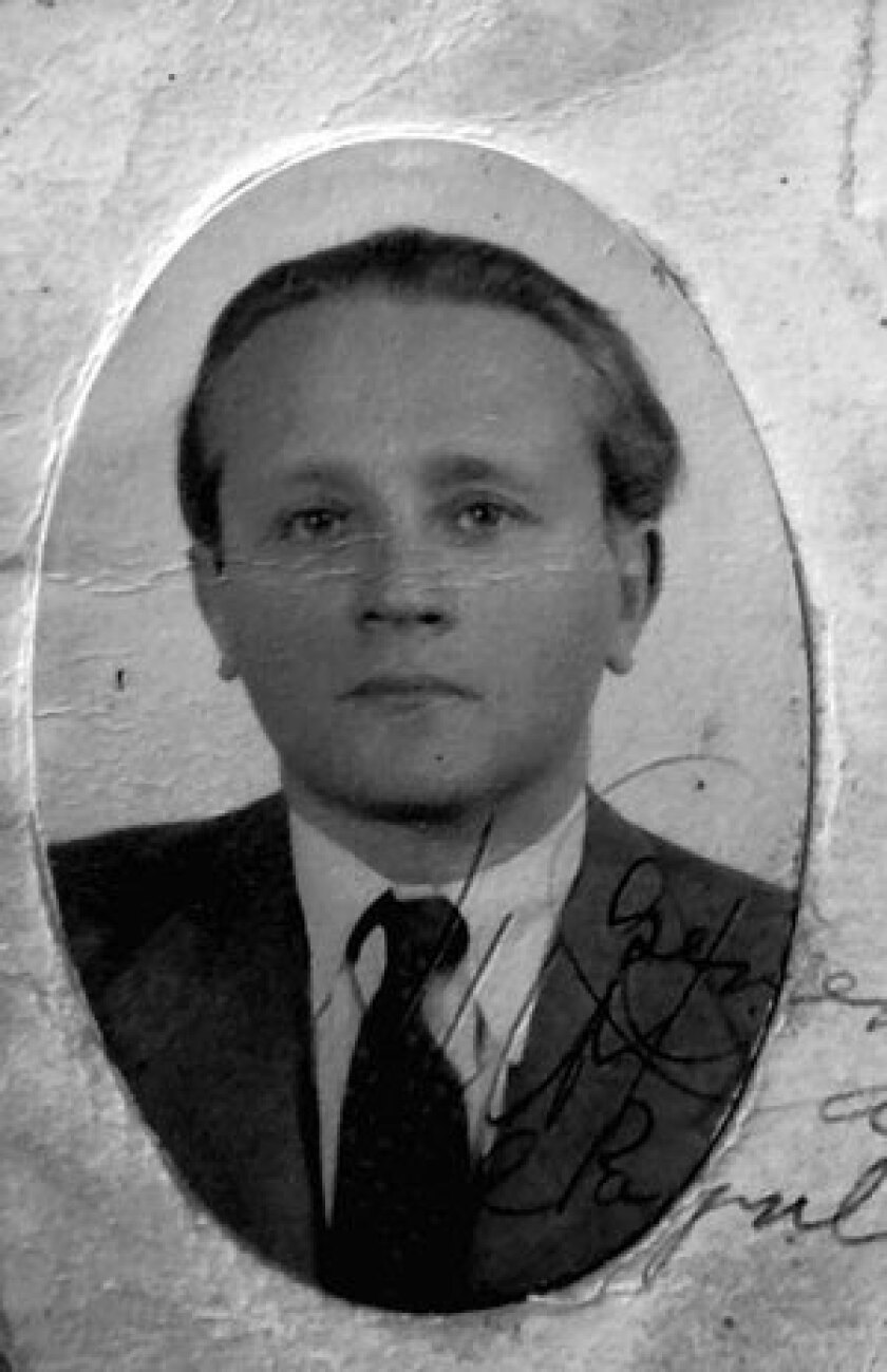 """An insert from the book """"The Dangerous Otto katz -- The Many Lives of a Soviet Spy."""""""