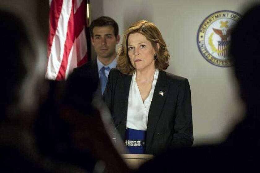 Sigourney Weaver slips into a new state in 'Political Animals'