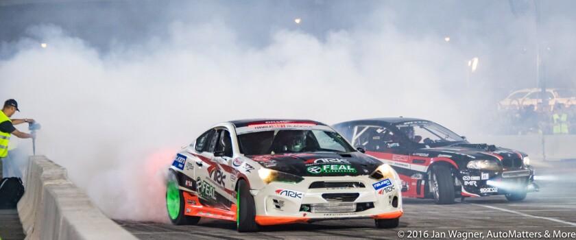 Drifting at SEMA ignited