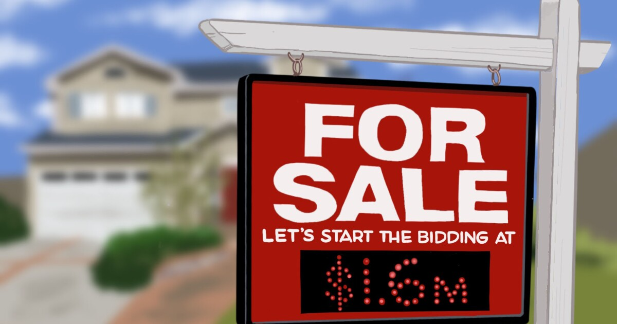 Real Estate newsletter: Home prices hit an all-time high