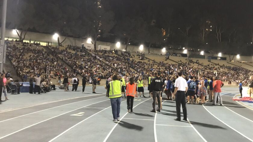 Residents from more than a dozen dorms were evacuated, and some were directed to Drake Stadium on UC