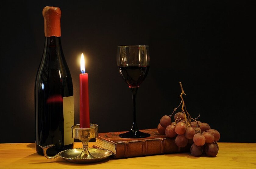 wine-candle