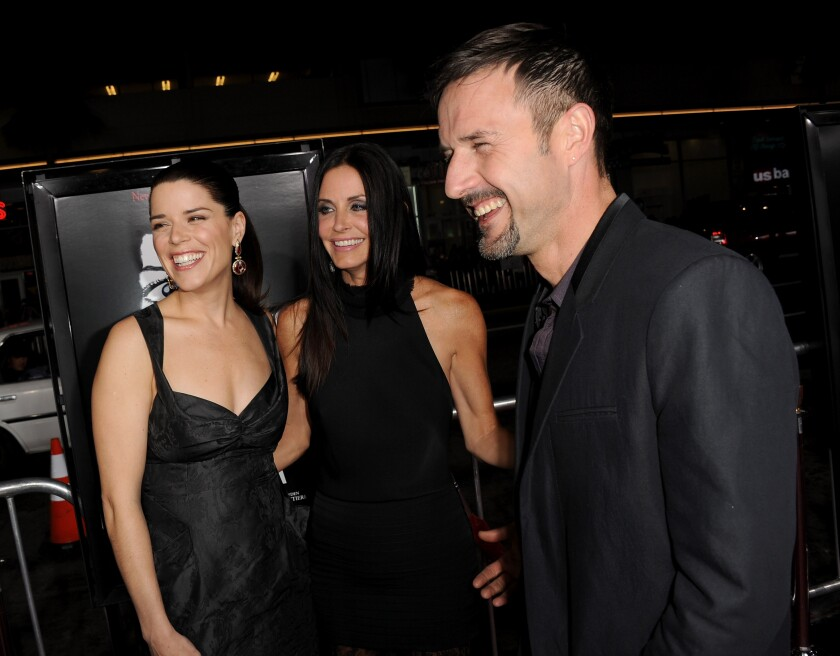 """Premiere Of The Weinstein Company's """"Scream 4"""" Presented By AXE Shower - Red Carpet"""