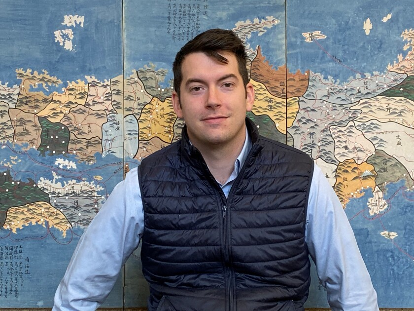 La Jolla map dealer Alex Clausen will soon appear in a new Science Channel series.