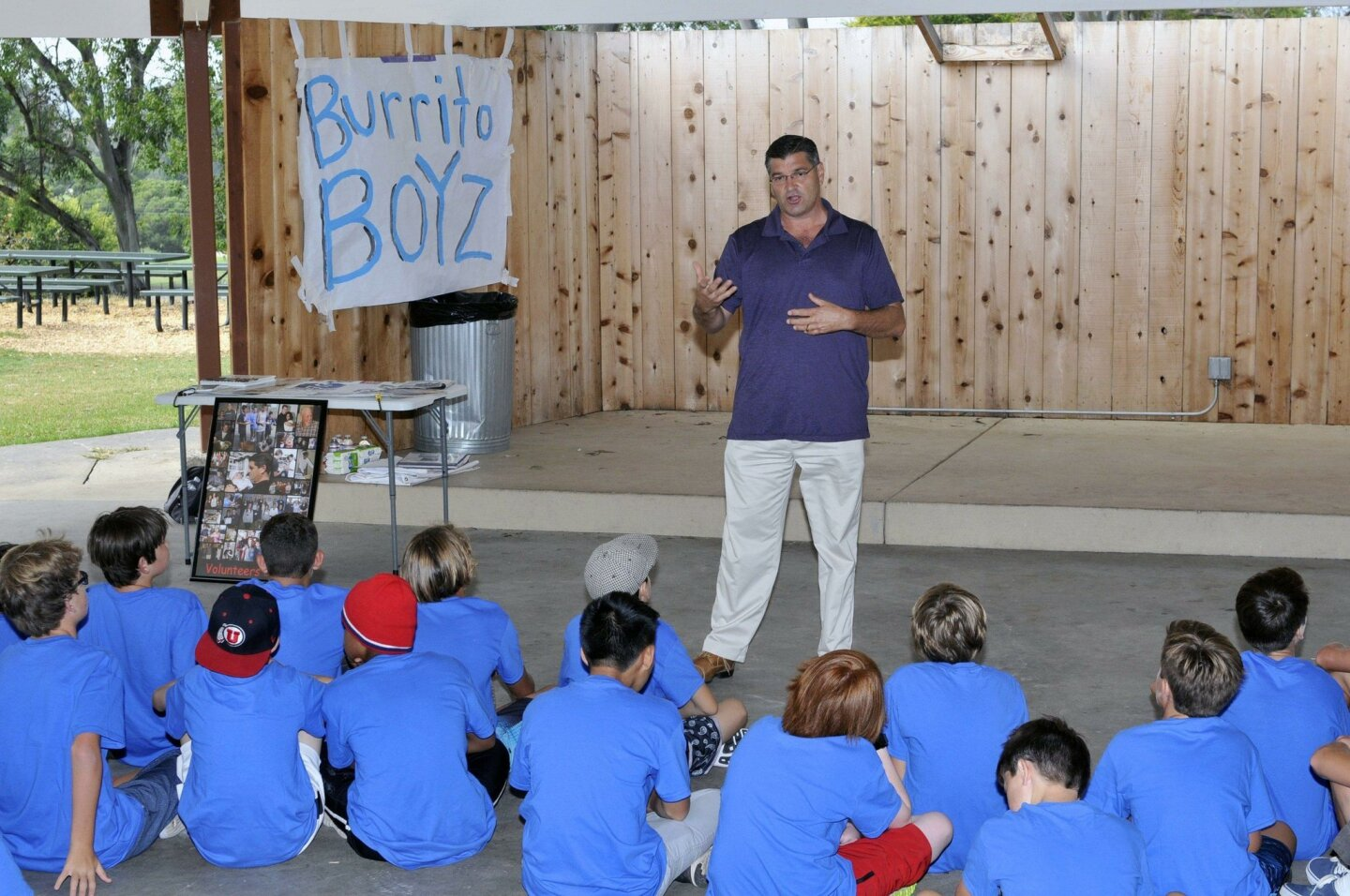 Burrito Boyz President & Founder Michael Johnson shares his experience with feeding the homeless (www.BurritoBoyz.org)