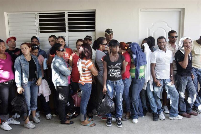 La Guardia Costera en Puerto Rico repatrió hoy a la República Dominicana, 18 inmigrantes ilegales tras haber sido detenidos en el mar en sendas acciones que tuvieron lugar el pasado martes cerca de Aguadilla, en el oeste de la isla. EFE/Archivo