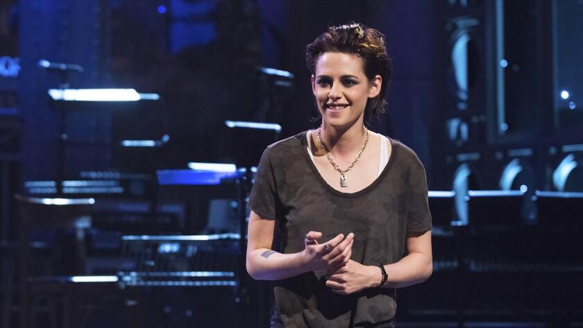 """Kristen Stewart on NBC's """"Saturday Night Live."""""""