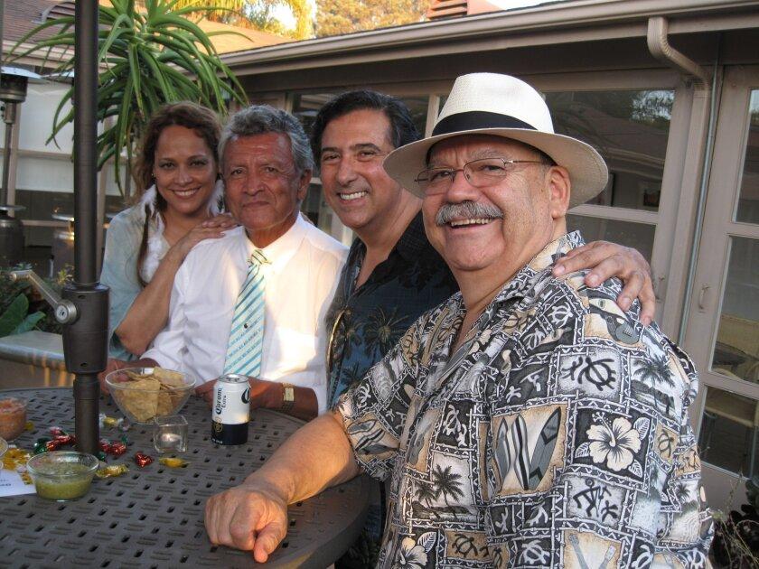 Lorena Guzman, Ossie Arciniega, Carlos Tarrac and Julio de la Huerta